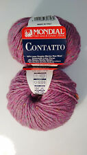 50g contatto mondial merino alpaca tweed Irish felted Donegal lana de alpaca 0871