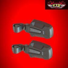 Can-Am Maverick X3 Seizmik Pursuit Black HD Side View Mirrors   18072
