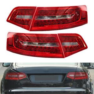 4Pcs LED Rear Outer Inner Tail Light Lamp Fit for Audi A6 S6 2009-11 RS6 Sedan