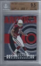 2004 Larry Fitzgerald Topps Finest RC... BGS 9.5 Gem Mint w/10 sub