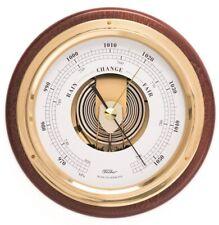 Fischer Barometer für innen, Holzdekor mahagonifarben, 1434B-22
