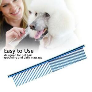 Pet Hair Comb Dog Cat Metal Row Teeth Brush Grooming Hair Comb Fur Rake Tool