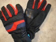 Scott Mens Black with Red Warm Casual Gloves size L