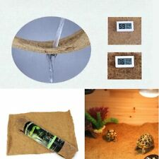 Reptile Coconut Cushion Breathable Natural Habitat For Spider Lizard Pet Supply