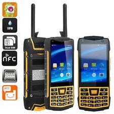 Unlocked 3G Android 6.0 Rugged N2 Waterproof Smartphone NFC Keyboard PTT Phone
