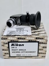 RARE! Viseur d'Angle NIKON DR-2 Eyecup Right-Angle Viewing Attachment