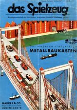 Metal construction kit Dux Universal 1943 !! ad Markes Ludenscheid advertidising
