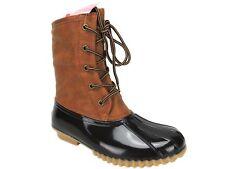 The Original Duck Boot Women's Arianna Boots Tan/Brown Size 6.5 M