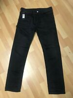 NWD Mens Diesel BUSTER STRETCH Denim 0859X BLACK REGULAR SLIM W30 L30 H7 RRP£150