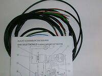 IMPIANTO ELETTRICO ELECTRICAL WIRING MOTO DUCATI SCRAMBLER  MAK 3 DESMO