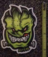 Spitfire Wheels Skateboard Sticker (Frankenstein)