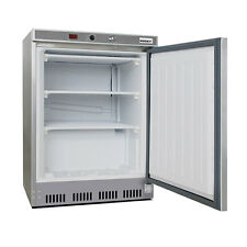 Husky 78L Single Solid Door Undercounter Stainless Steel Commercial Freezer