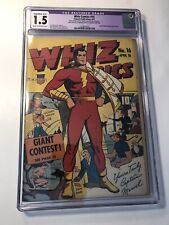 Whiz Comics #16 CGC 1.5 (R) Golden Age Comic Book Captain Marvel Vs Spy Smasher!