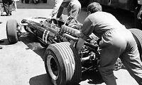 PEDRO RODRIGUEZ COOPER MASERATI CAR PHOTOGRAPH FOTO MONACO GRAND PRIX 1967