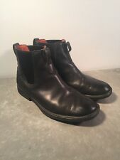 Timberland Carter Notch Chelsea Mens Black Leather Boots Shoes M9 W10