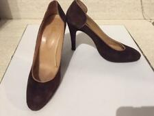 Vintage Women's Suede Shoes, Heels, 1979