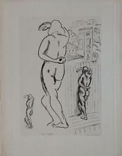 Gravure d'après Henri Matisse Etude de Femmes