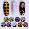 Colorful Nail Art Glitter Chameleon Triangle Iridescent Flakes Sequins 3D Decors