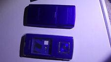 SAMSUNG SGH J600 COVER keypad, middle, back cover - full cover, blue -OEM-