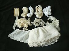 Assorted Eyelet Ruffles and Lace Trims White Ecru Sewing Supplies
