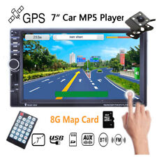 "7"" 2DIN GPS Car Radio MP5 Player Bluetooth TF/AUX/FM/USB Stereo  Touch Screen"