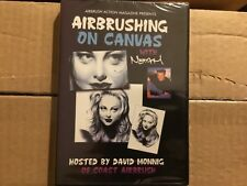 Airbrushing Portraits on Canvas with Noah hosted David Monnig Airbrushing  DVD
