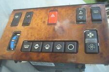 Mercedes w126 380SEL Climate Control Unit Push Button Burl Wood Switch Assembly