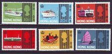 Hong Kong 1968 SC 239-244 MH Set Ship