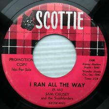Sam Causey & Southlanders I RAN ALL THE WAY ROBERT E LEE 1959 teen rock 45 e4268