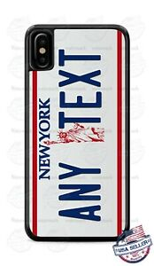 New York Vintage 1986 State License Phone Case For iPhone 12 Samsung A11 Google