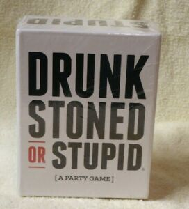 Brand New - Drunk Stone or Stupid Card Game