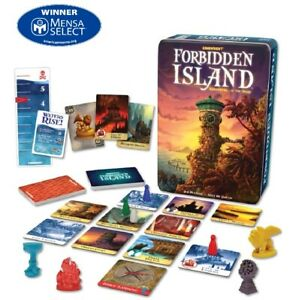 Forbidden Island Gamewright  Adventure Strategy Board Game Mensa Awarded Game
