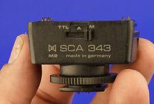 Metz SCA 343 M2 Nikon TTL adapter