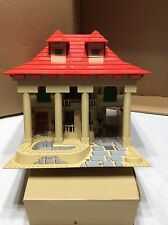Lego custom made MOC Large Tan House pool Red roof 4lb Many pieces used Lego