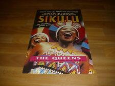 SIKULU   African Song & Dance Sensation  QUEEN's   Theatre  Original  Poster