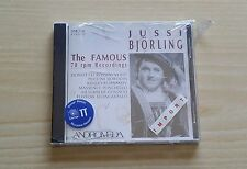 JUSSI BJORLING - THE FAMOUS 78 RPM RECORDINGS - CD SIGILLATO (SEALED)