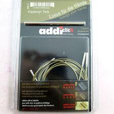 Set 3 Cords Addi Click Interchangeable knitting Needles