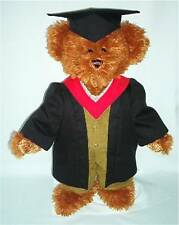 LINDON JOINTED BEAR 16inch/40cm TALL AS AN ACADEMIC RRP £55 ON OFFER AT £40