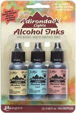LAKESHORE - Sandal/Aqua/Salmon - Adirondack Alcohol Ink 3 pk - Tim Holtz/Ranger