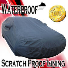Waterproof Car Cover All Weather Snow Rain UV Mirror Pockets w/ Inner Fleece XXL