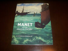MANET AND THE AMERICAN CIVIL WAR The Battle USS Kearsarge CSS Alabama Book NEW