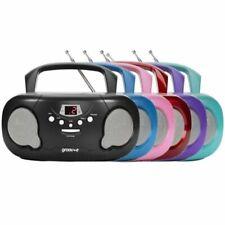 More details for groov-e // 'original' or 'retro' boombox // portable cd player // am/fm radio