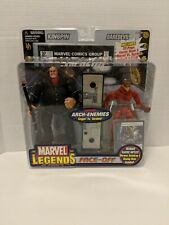 Marvel Legends Face Off Kingpin Vs Daredevil Unmasked Variant Toybiz