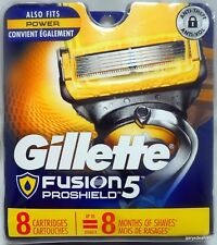 Gillette Fusion5  Proshield <8 Cartridges> Men's Razor 5 Blades NEW