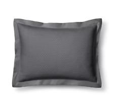 Diamond Matelasse Sham - Fieldcrest® - Dark Gray - NWT