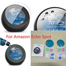 2pcs Screen Protector Full Coverage Tempered Glass for Amazon Echo Spot New