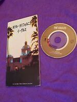 "EAGLES HOTEL CALIFORNIA / Japanese 3"" mini CD single JAPAN / UK DESPATCH"
