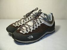 THE NORTH FACE VIBRAM BROWN SNEAKERS SHOES / SIZE US 8 / EUR 39 WOMEN'S