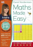 Carol Vorderman - Maths Made Easy Times Tables Ages 7-11 Key Stage 2