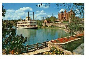 Postcard Disney World Cruising Rivers of America Majestic Admiral Joe Fowler. R